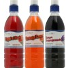 Victorio 3-Flavor Pack Shaved Ice/Snow Cone Syrups, Orange Cream, Tigers Blood, Grape Pomegranate