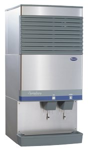 Water Cooled Follett Symphony Countertop Ice Maker and Water Dispenser Compressed Nugget Ice 90 lb.