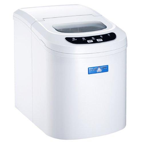 Polar Countertop Ice Maker : ... Polar Cube Arctic Master White Portable Ice Maker - The Ice Machine