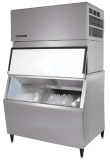 500 Pound Ice Machine with an Ice Crusher and a 650 Pound Divided Ice Bin **Lease 9 a Month** Call 817-888-3056