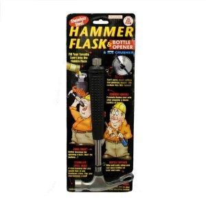 Forum Novelties 64280 Hammer Flask, Bottle Opener & Ice Crusher