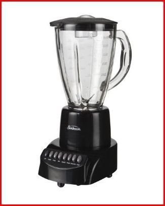 Sunbeam BLSBX3B Sunbeam 6 Speed Glass-Ice Crusher