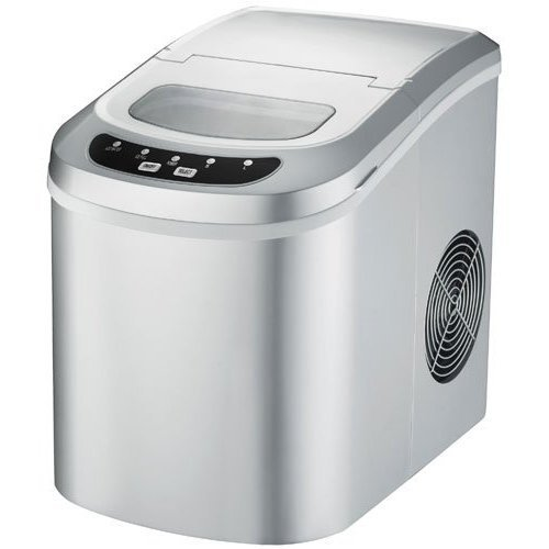 SPT-IM-121S Portable Ice Maker Silver Color