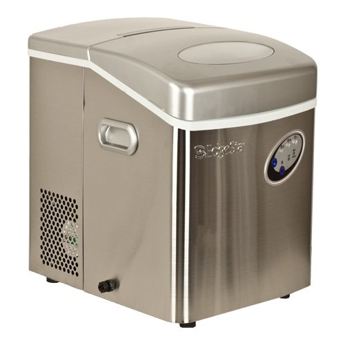 EdgeStar Stainless Steel Portable Ice Maker - Stainless Steel