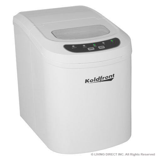 Portable Countertop Ice Maker - White